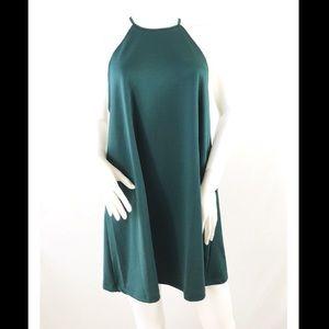 NWT Zara Trafaluc A-Line Mini Halter Dress